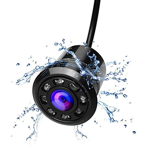 Tuu 8 LED Night Vision Car Backup Rear View Reverse Parking Camera (Black) -
