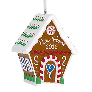 Hallmark New Home 2016 Gingerbread House Holiday Ornament
