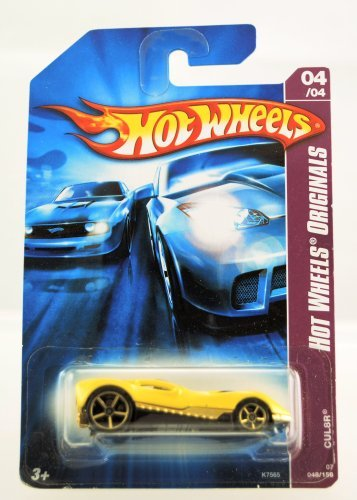 Hot Wheels - 2007 - Hot Wheels Originals - CUL8R - #048/156 - Yellow - 04/04 - Limited Edition - Collectible -  Mattel