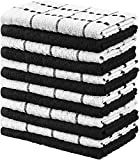 Kitchen & Housewares : Utopia Towels Kitchen Towels, 15 x 25 Inches, 100% Ring Spun Cotton Super Soft and Absorbent Grey Dish Towels, Tea Towels and Bar Towels, (Pack of 12)