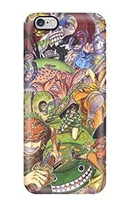 Cute Appearance Cover/tpu SjNhiIk14532sfRTk One Piece Anime Nico Robin Roronoa Zoro Chopper Monkey D Luffy Nami One Piece Usopp Sanji One Piece Case For Iphone 6 Plus
