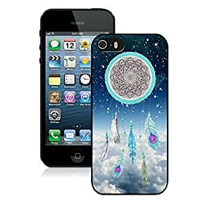Dream Catcher Nebula iPhone 5 5S Case Black Cover Fashion cell phone cases