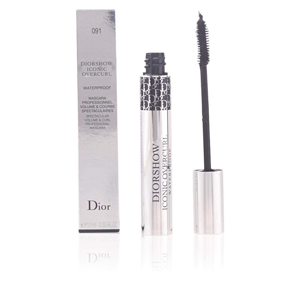 dab34bcd3a3 Amazon.com : Christian Dior Show Iconic Over-Curl Waterproof Mascara for  Women, No. 091 Over Black, 0.33 Ounce : Beauty