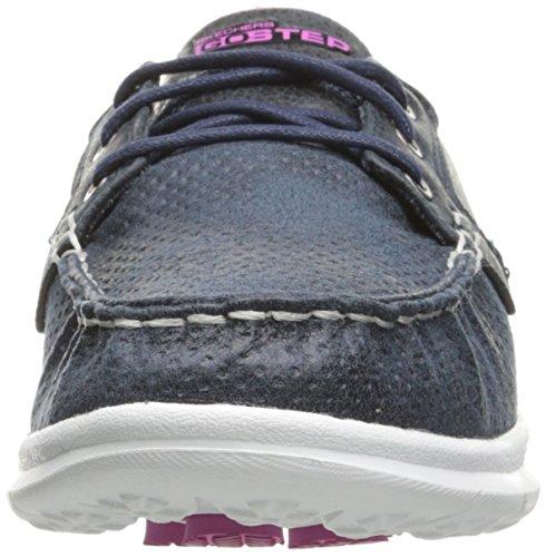 Blanc Skechers Taupe Riptide Go Marine Bleu Chaussures Bateau Femme Step rBZznx4qwr