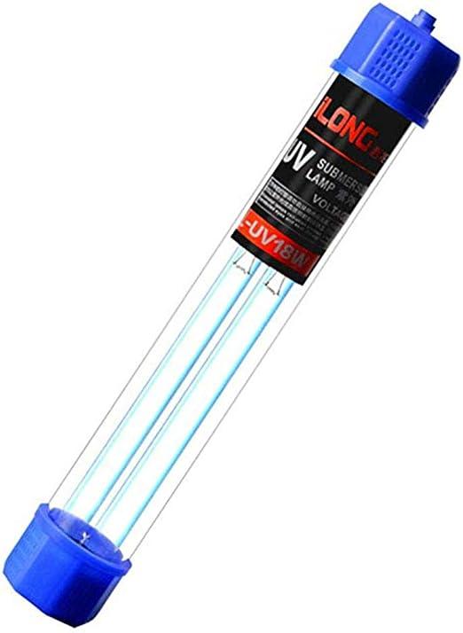Esterilizador de luz UV para acuarios, lámpara UV sumergible a ...