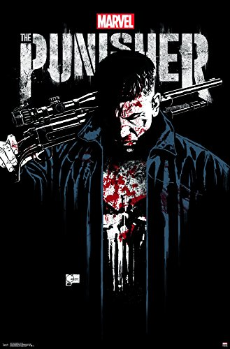 Trends International The The Punisher - Key Art Premium Wall Poster, 22.375