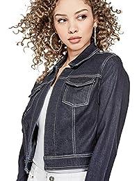 Womens Cheral Crop Denim Jacket