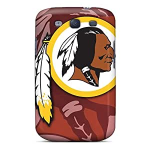 Premium Protection Washington Redskins Case Cover For Galaxy S3- Retail Packaging