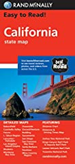 Rand McNally's Easy To Read State Folded Map is a must-have for anyone traveling in and around California, offering unbeatable accuracy and reliability at a great price. Our trusted cartography shows all Interstate, U.S., state, and county hi...