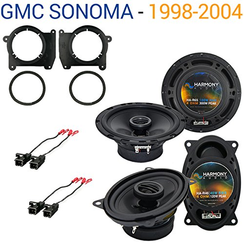 Fits GMC Sonoma 1998-2004 Factory Speaker Replacement Harmony R65 R46 Package New