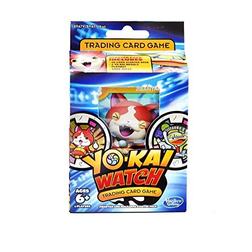 Packs Trading Card Game - Yo-kai Watch Trading Card Game Jibanyan and Walkappa Starter Pack