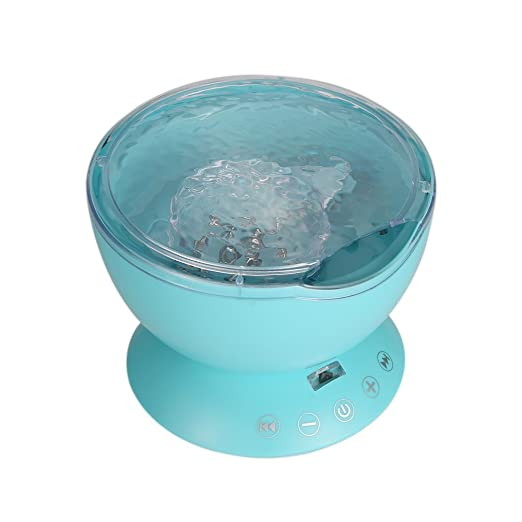 Extaum Lámpara Ocean Wave Multicolor con Mini Reproductor de ...
