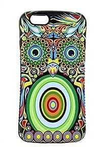 iPhone 6 Plus Case, TPU + PC Hybrid for iPhone 6 Case (5.5-inch), Owl - 6060i9