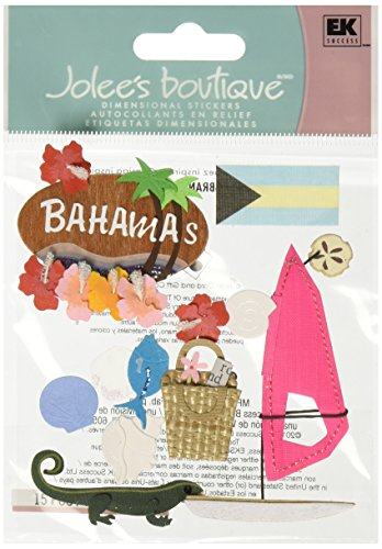 Destinations Scrapbook Stickers (Jolee's Boutique Bahamas Destination Stickers)