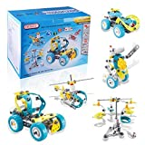 Car Puzzle Kit, Imagination Building Bricks Blocks Assembly Disassembly Construction Puzzles DIY Intelligence Learning Play Toys Set for Children Girls Boys Age Over 5 Years Old
