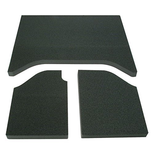 (Design Engineering 050132 Boom Mat Sound-Deadening Headliner for 2-Door Jeep Wrangler (2007-2010) - Black )