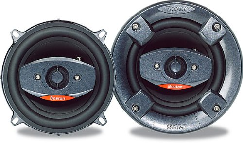 Boston Acoustics SX55 - Car speaker - 50 Watt - 2-way - coaxial - 5.25 (Cars Speakers For Boston)