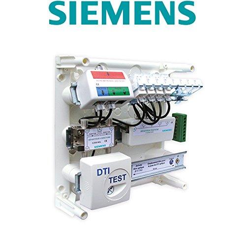 Siemens - Coffret de Communication de grade 1 avec 4 prises RJ45
