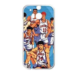 Slam Dunk HTC One M8 Cell Phone Case White Phone cover J9741458