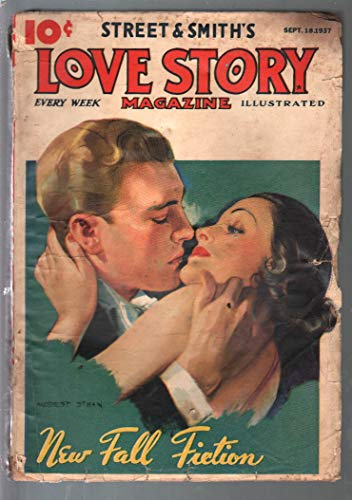 - Love Story 9/18/1937-Modest Stein cover-Fall Fiction issue-G/VG
