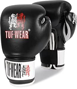 Title Boxing Tuf-Wear Pro Air Boxing Gloves, Black, 14