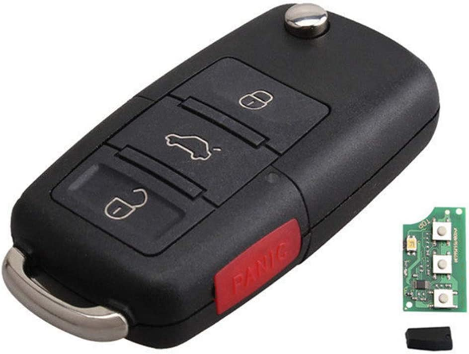 Juse a Case KAWIHEN Keyless Entry Remote Key Fob Replacement For Ford Escape Expedition Explorer Excursion F-150 Mercury Mariner Mountaineer Monterey CWTWB1U212 CWTWB1U331 GQ43VT11T CWTWB1U345