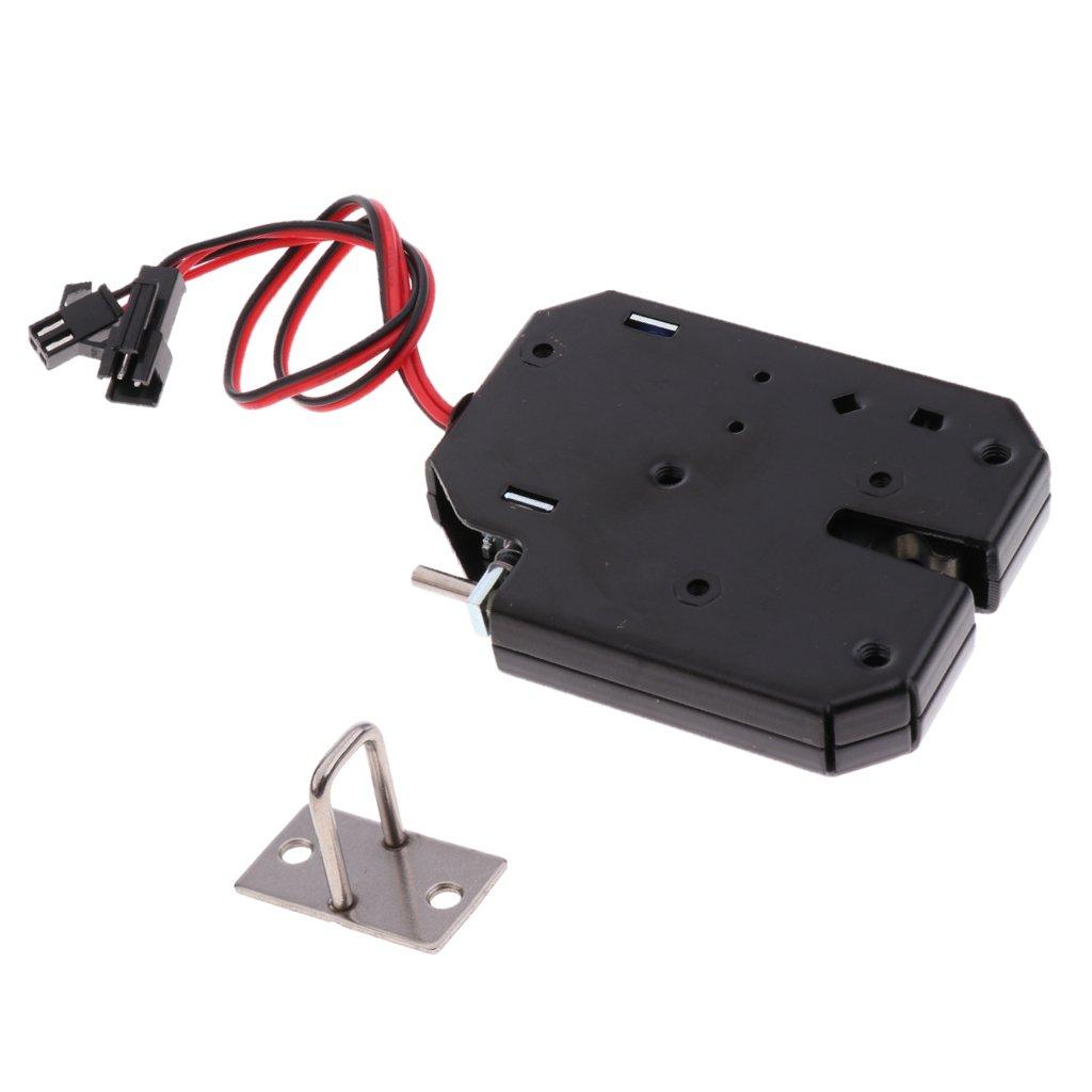 MagiDeal Serratura Lingua Controllo Gruppo Solenoide Elettrico per Bagagli Cassetto Porta Automatica