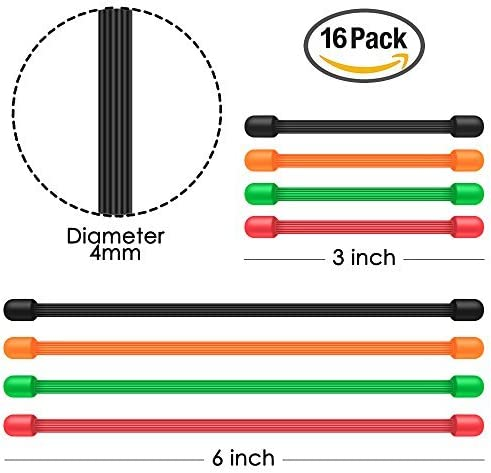 Noir Vert SENHAI 3 /& 6 Lien Bandes pour la Rangement de C/âbles Attacher Sacs Suspendre Rouge Orange Lot de 16 Attaches de C/âbles