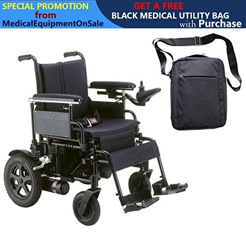 Drive Cirrus Plus EC Folding Power Wheelchair, 20