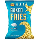Snikiddy Baked Fries! Potato And Corn Snacks! Sea Salt! Cheddar Cheese! Hot And Spicy! 50 Percent Less Fat Than Potato Chips! Delicious! (Sea Salt)