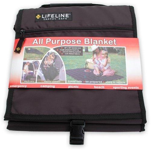 Lifeline 4014 Travel Blanket Black