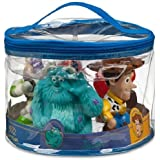 Disney Pixar Toy Story Woody Buzz Sulley Dash Nemo Mr Incredible Squeeze Tub Pool Toy Set of 5