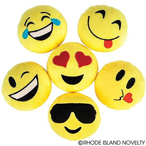 Set of Six (6) EMOJI Emoticon 5