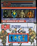 GI Joe fully poseable 4 pc VINTAGE ACTION FIGURE COLLECTION Boxed Set Fully Articulated Key Chains