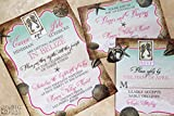 The Tropical Destination Wedding Invitation Sample Set
