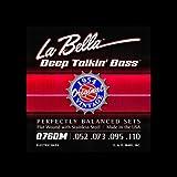 La Bella ベース弦 ジェームスジェマーソン 0760M/フラットワウンド