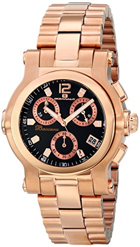 Oceanaut Men's OC0724 Baccara Analog Display Quartz Rose Gold Watch