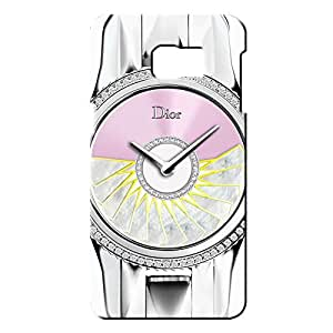 Dior Watch Back Cover For Samsung Galaxy S6 edge Plus_3D 3D Hard Plastic Case