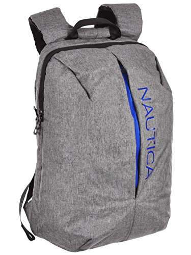 Nautica Nylon Backpack - gray, one size (Nautica Padding)