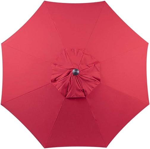 Bayside-21 9 ft Patio Umbrella Replacement Market Table Outdoor Umbrella Canopy Umbrella Top Only Fit