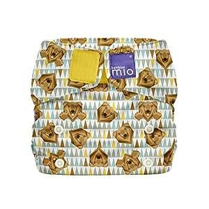 Bambino Mio Miosolo Reutilizable Pardo Pañal - Paquete de 6: Amazon.es: Bebé