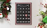 Metal Advent Calendar Wall Decor