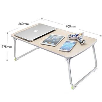Cama de la tabla del ordenador portátil de la ballena con escritorio mesa plegable portátil tabla de estudiantes universitarios tabla de aprendizaje tabla ...