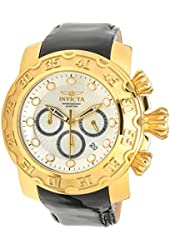 Invicta Lupah Chronograph Silver Dial Mens Watch 22491