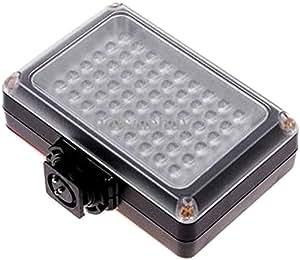 Cablematic - Lámpara de LEDs para cámara 405 lumens 54LED función flash