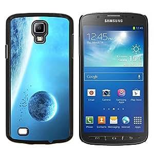 Caucho caso de Shell duro de la cubierta de accesorios de protección BY RAYDREAMMM - Samsung Galaxy S4 Active i9295 - Espacio Planet Galaxy Estrellas 7