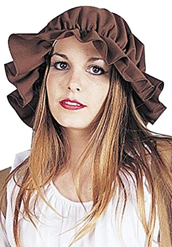 RG Costumes Women's Colonial Mop Cap, Brown ()