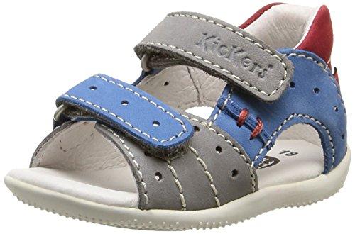 Bébé Garçon Rouge Chaussures Kickers Clair Gris Marche Boping Gris Bleu 6qpyxB71wy