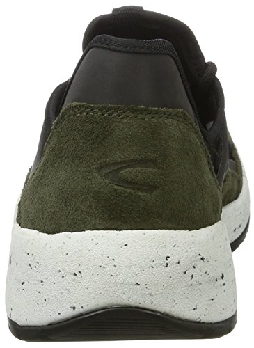 camel active Herren Jump 13 Low-Top Grün (army/black 02)