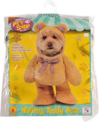 Dogs In Teddy Bear Costume (Walking Teddy Bear Pet Suit, Medium)